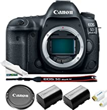 $1969 » Canon EOS 5D Mark IV DSLR Camera (Body Only) + Basic Accessories Bundle