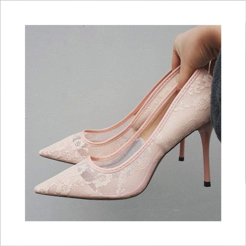 Elegant Women Pumps High Heels Wedding shoes Women Pointed Toe SWB0107