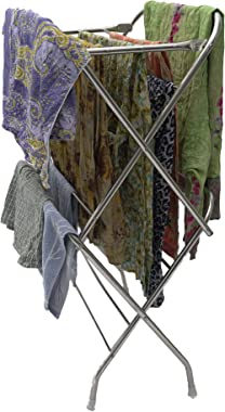 Cloth Drying Stand 9 Rods Stainless Steel