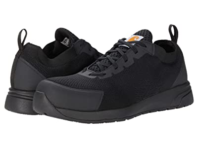 Carhartt Force Nano Composite Toe SD Work Shoe (Black Mesh/Synthetic) Men