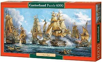 CASTORLAND Naval Battle 4000 pcs Puzzle - Rompecabezas (Puzzle Rompecabezas, Buques, Niños y Adultos, Niño/niña, 9 año(s), Interior)