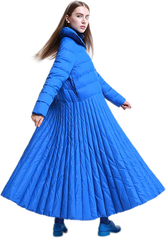 YXXHM- Lange Daunenjacke, Herbst- Und Winterkleidungsstil, Spezielle Designjacke, Lssige Damenbekleidung