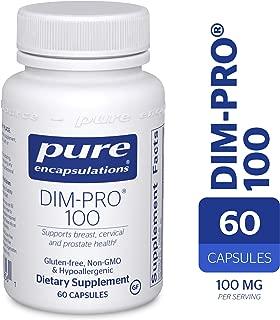 Pure Encapsulations - DIM-PRO 100 - Dietary Supplement with BioResponse DIM - 60 Capsules