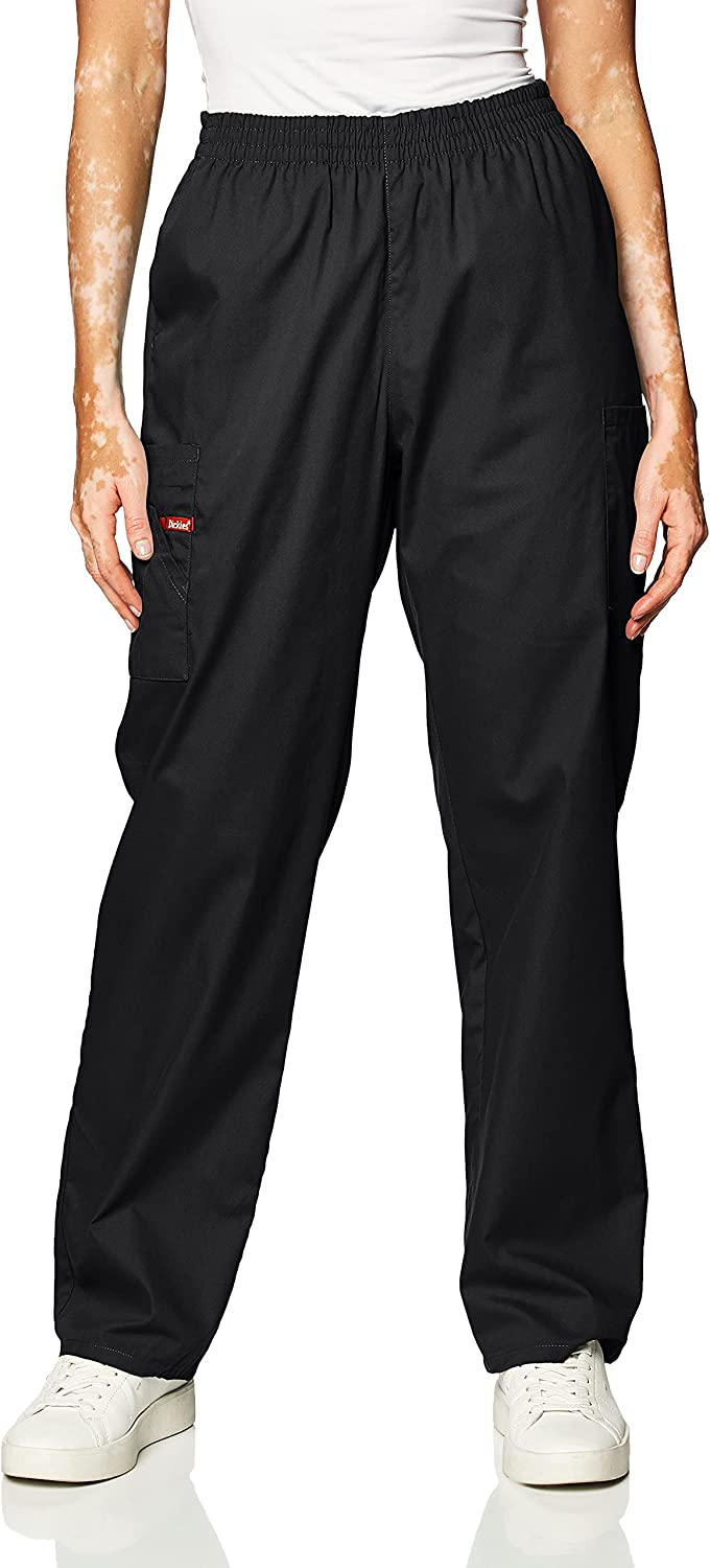 Dickies 86106 Eds Signature Scrubs Missy Fit Pull-on Cargo Pant Pantalones quirúrgicos Mujer