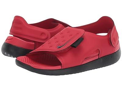 Nike Kids Sunray Adjust 5 (Little Kid/Big Kid) (University Red/Black) Boys Shoes