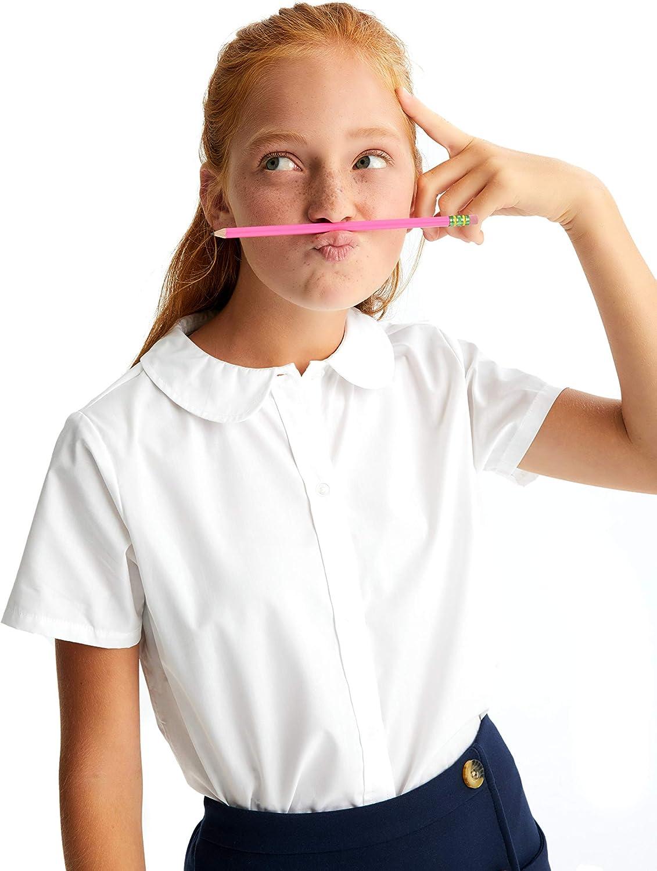 French Toast Womens School Uniform Button Down Shirt