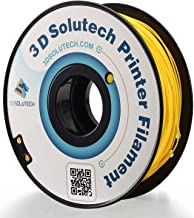 3D Solutech Real Yellow 3D Printer PLA Filament 1.75MM Filament, Dimensional Accuracy +/- 0.03 mm, 2.2 LBS (1.0KG)