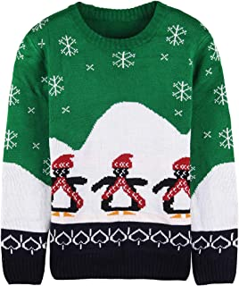 Women's Knitted Pullover Ugly Christmas Sweater Jumpers