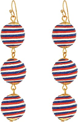SHASHI - Matilda Stripe Linear Drop Earrings