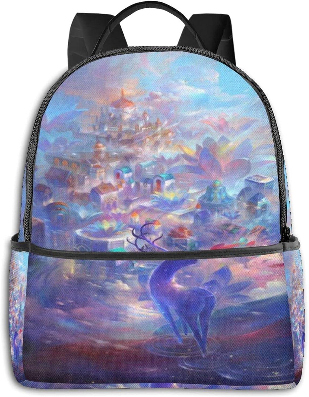 Deer Boston Mall Dream Backpack for StudentTravel Lightweight School Work B Free shipping / New
