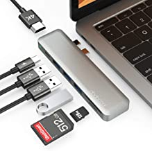 USB C Hub, dodocool MacBook Pro Adapters, MacBook Air Adapter, 7 in 1, Thunderbolt 3, 4K HDMI, 3 USB 3.0 Ports, SD TF Card...