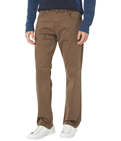 Mavi Jeans Matt Relaxed Straight in Chocolate Twill