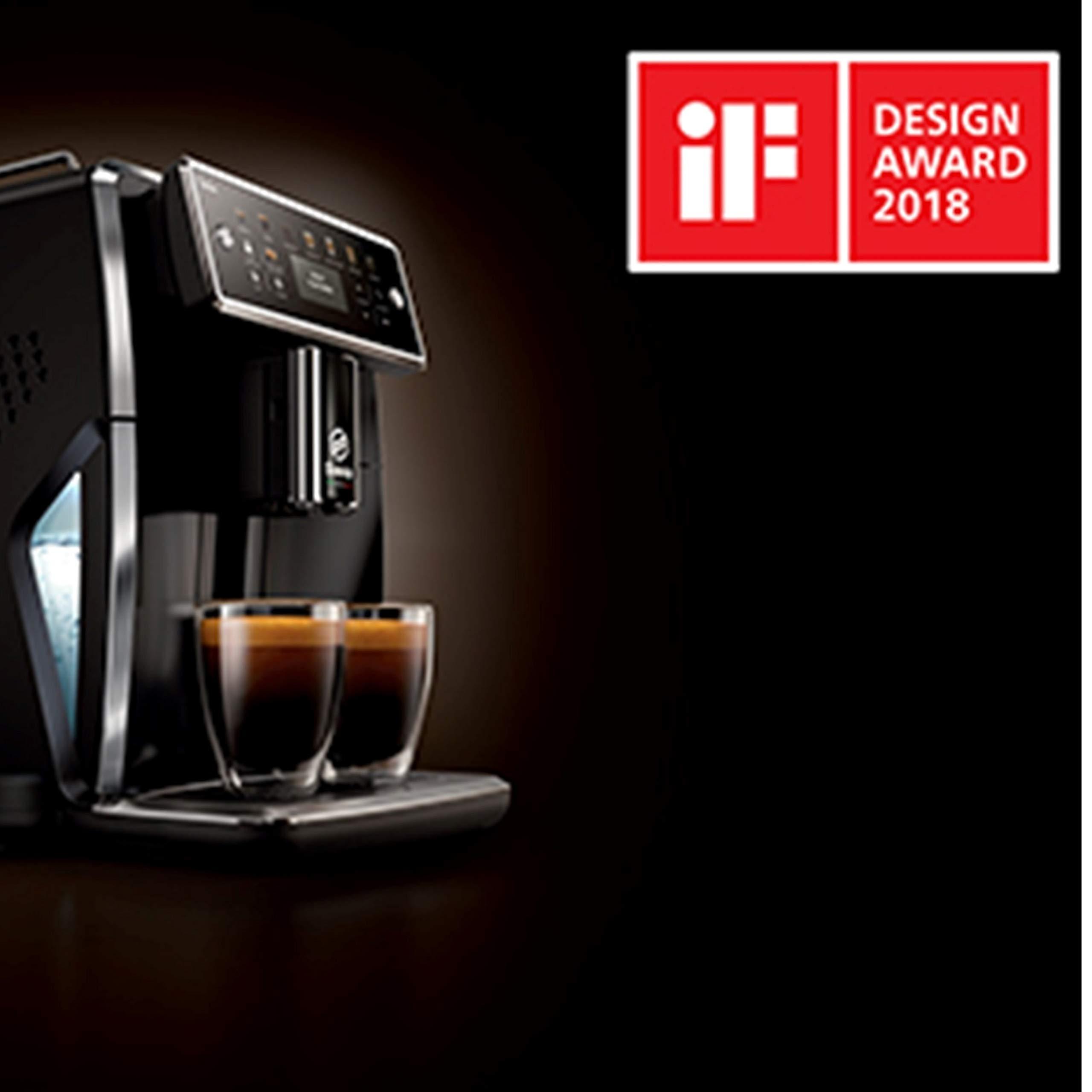 Philips SM7580/00 Cafetera Espresso Súper Automática, Acero ...