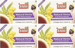 Badia Natural Herbs Tea (2 Pack) 50 Bags