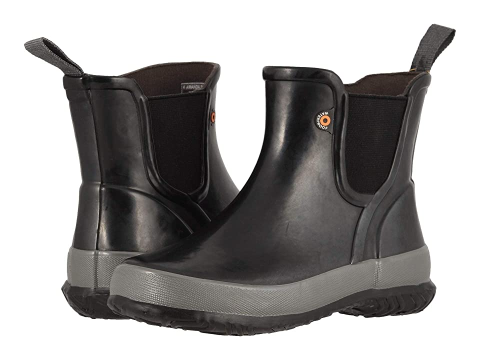 Bogs Kids Amanda Slip-On Solid (Little Kid/Big Kid) (Black) Girls Shoes