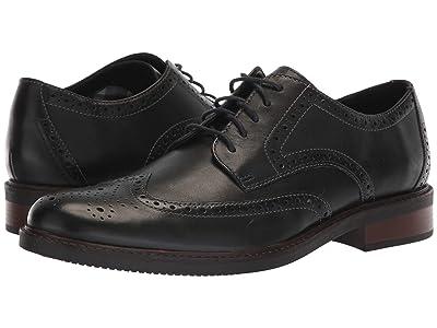 Bostonian Maxton Wing (Black Leather) Men