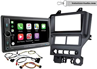 Power Acoustik CP-650 Double Din Radio Install Kit With Apple CarPlay Fits 2015-2017 Mustang