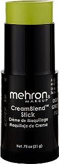 Mehron Makeup CreamBlend Stick (0.75 Ounce) (OGRE GREEN)