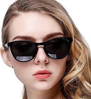 نظارة شمسية كاناستال بعدسات مستقطبة وتصميم كلاسيكي واطار على شكل قرن للنساء والرجال