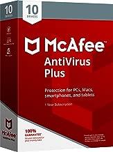 McAfee 2018 AntiVirus Plus - 10 Devices [OLD VERSION]