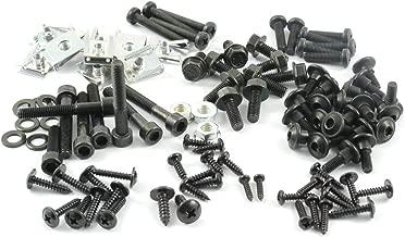 Tech-Parts-Koeln Ultra Set Schwarz Vario Schrauben Peugeot Speedfight 2 Verkleidungs Clipse