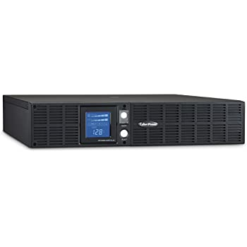 CyberPower OR1500LCDRTXL2U Smart App LCD UPS System, 1500VA/1125W, 8 Outlets, AVR, 2U Rack/Tower