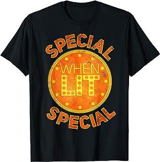 Special When Lit - Cadeau drôle rétro flipper T-Shirt