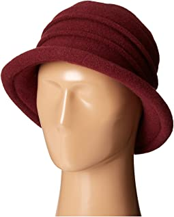 SCALA Packable Wool Felt Cloche