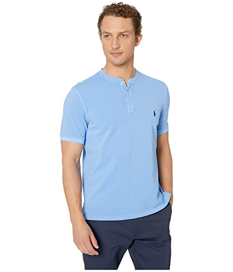 cee675050 Polo Ralph Lauren Featherweight Mesh Short Sleeve Knit Henley at ...
