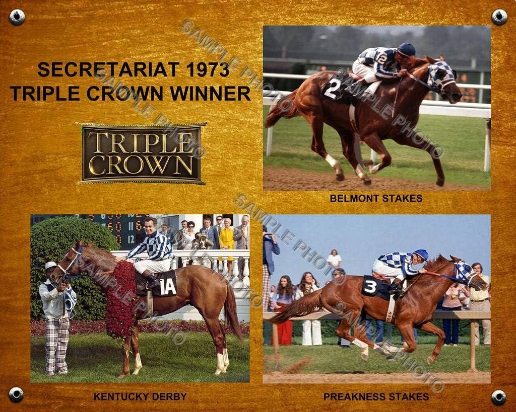 SPORTSPHOTOSUSA Secretariat 1973 Triple Crown Preak Rapid rise Winner 1 year warranty Derby