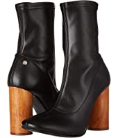 Manila Grace - Ankle Bootie with Statemented Heel