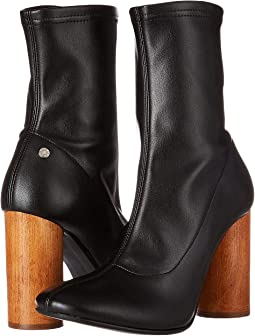 Ankle Bootie with Statemented Heel