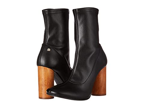 Manila Grace Ankle Bootie with Statemented Heel