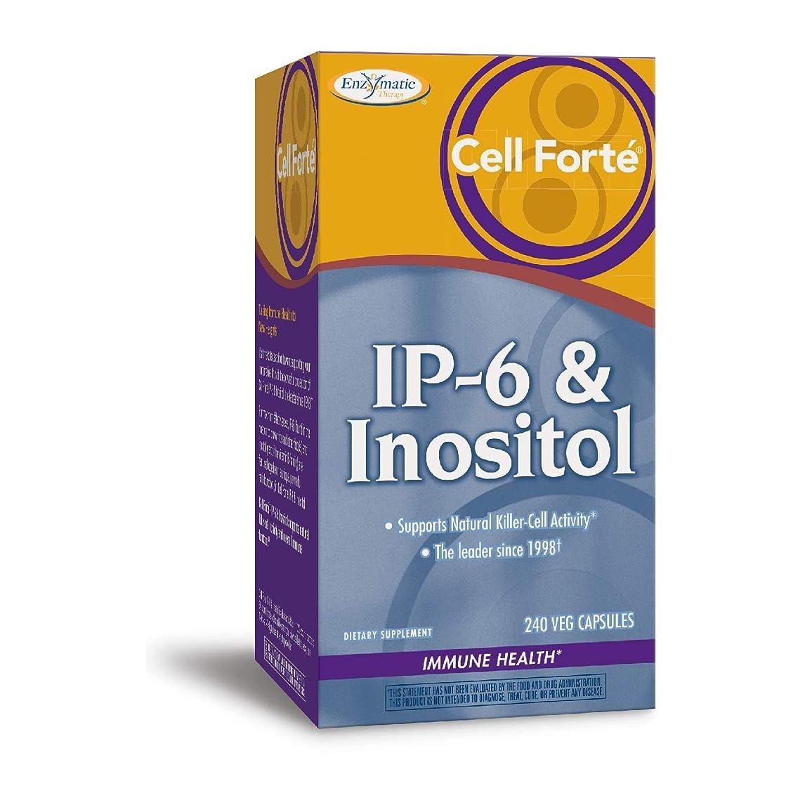 絶壁怠感絶壁セルフォルテ?IP-6&イノシトール 240ベジカプセル (海外直送品)