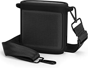 Yinke Funda para Bose SoundLink Color Bluetooth Speaker II, Funda protectora de silicona (Negro)