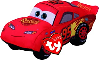 Ty Cars 42253 3 Lightning McQueen Plush Toy, Multi