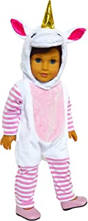 Brittany's Unicorn Costume Compatible with American 18 Inch Girl Dolls- 18 Inch Doll Clothes