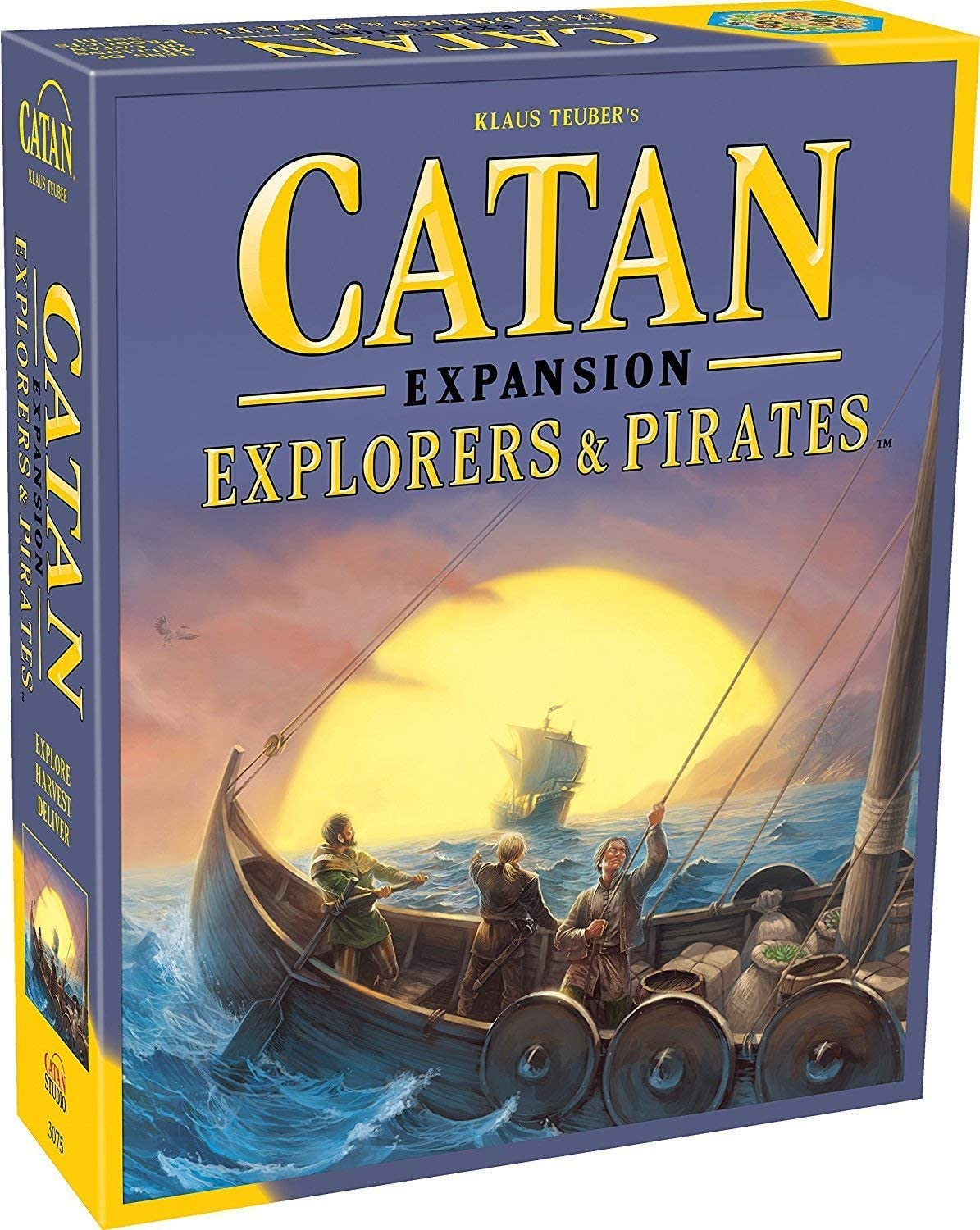 Catan Explorers and Pirates Board Game Expansion | Board Game for Adults and Family | Adventure Board Game | Ages 12+ | for 3 to 4 Players | Average Playtime 90 Minutes | Made by Catan Studio