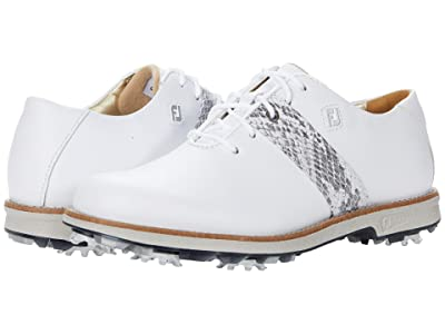 FootJoy DryJoys Premiere (White/Croc) Women