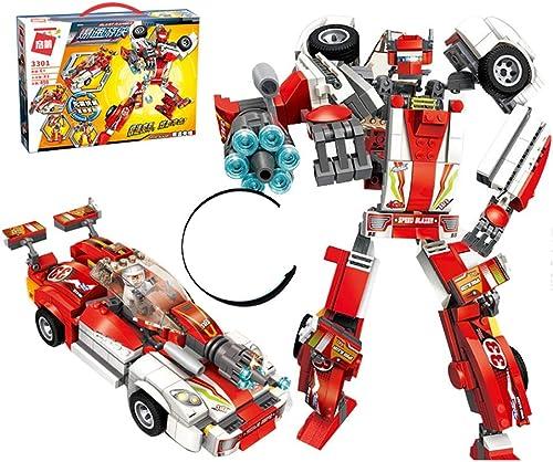 n ° 1 en línea Yang baby Bloques de construcción de Juguetes para para para Niños, Juguetes educativos para Niños, Juguetes de Robot, Variante de Coches. Bloques de construcción de Juguetes.  venta