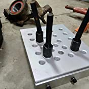 Use With Standard Workshop Press,Hydraulic Press Support Block for Drill Presses(245x200mm) /•Universal Press Support Block