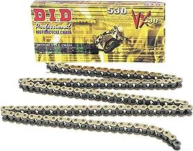New D.I.D. DID530VX Chain 120 Link for Yamaha FZR 600 90-99, FZS 1000 S 01-15, FZX 750 Fazer 86-87, XJR 1300 02-06, XJR 1300 SP 99-01, YZF 600 R 95-07, YZF R1 98-14, FZ 1 01-15