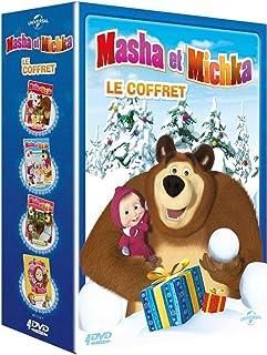 Masha et Michka – Le Coffret: Les Rois du cirque + Graines d'artistes + La..