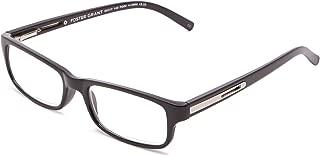 Foster Grant Men's Brandon Rectangular Reading Glasses