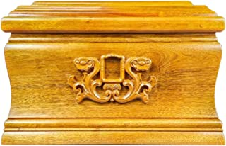 Adult Large Cremation Urns, Wooden Funeral Urns, Urns For Human Ashes, Tree of Life Adult Wooden Cremation Urn, Honor Your...