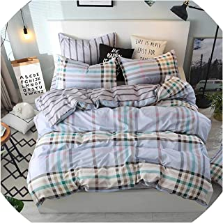 Bedspreads Yellow King Bed Quilt Cover Queen Size Bedding Covers Cartoon Kids Bed Linen Single for Children Double Bedding Sets,211,Single 3Pcs,Flat Bed Sheet