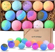 Bath Bombs Gift Set 14 - Lush Bubble Bath Fizzies Natural Vegan Essential Oil Bubble & Spa Bath Fizz Balls Kit Handmade Bathbombs for Women/Men/Kids/Boys/Girls Dry Skin Moisturize, Birthday Gift