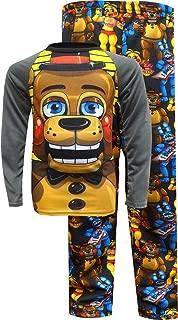 Bioworld Merchandising Boys' Five Nights at Freddy's Giant Freddy Pajama Set