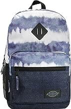 denim dye blue backpack