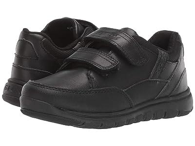Geox Kids Jr Xunday 3 (Little Kid) (Black Oxford) Boys Shoes